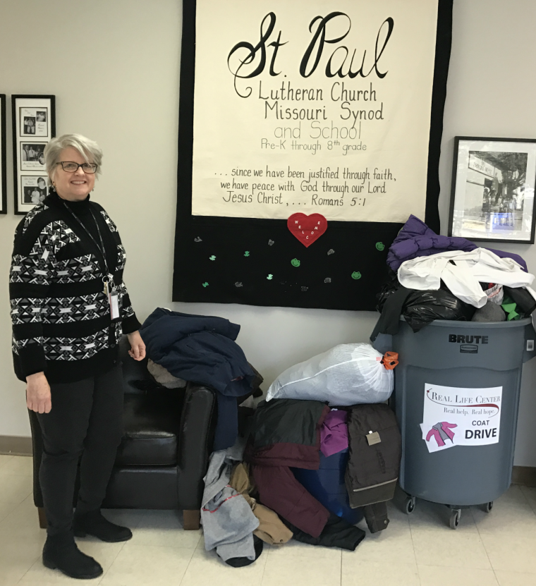 St. Paul Lutheran School Coat Drive