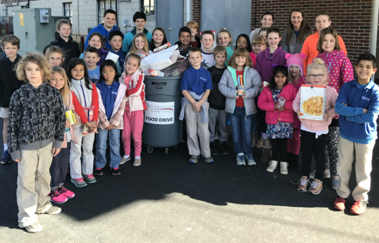 Crossroads Christian School Food Drive