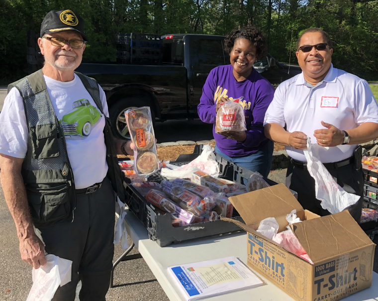 April Mobile Food Pantry