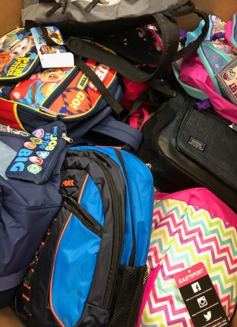 Panasonic Donates School Supplies