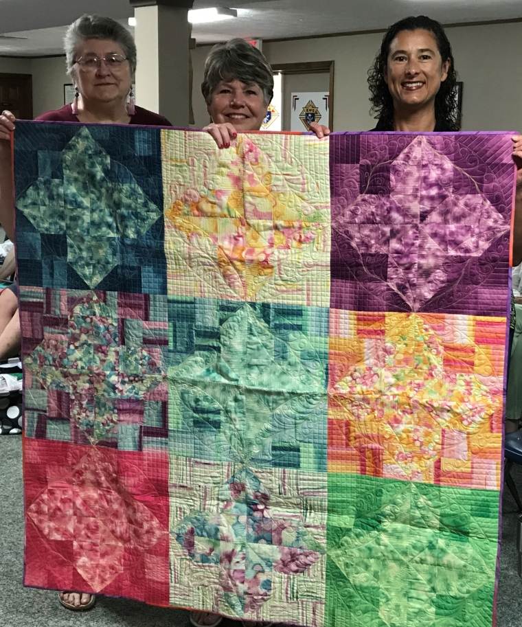 Quilter's Using their Talents to Help Others