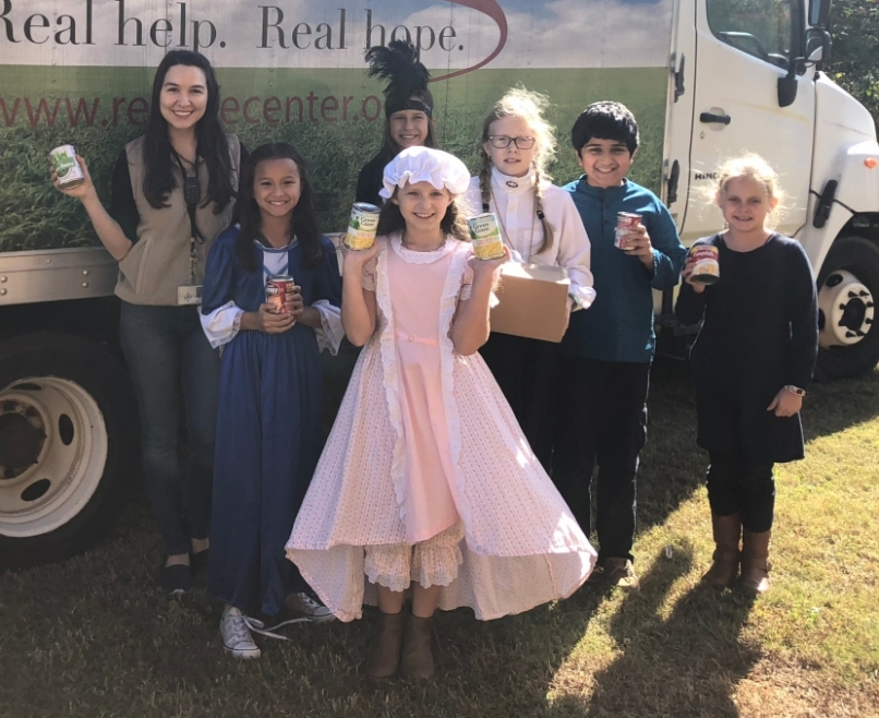 Crabapple Lane Elementary Student Council Food Drive