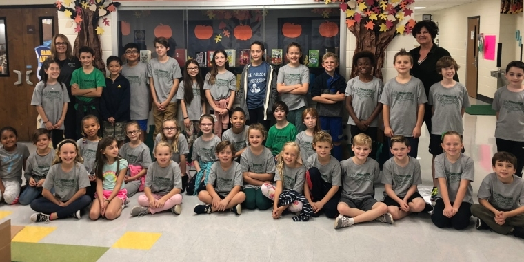 Huddleston Elementary Student Council Food Drive