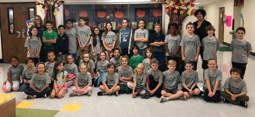 Huddleston Elementary Student Council Food Drive