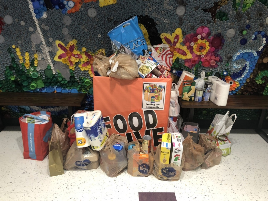 Kedron Elementary School Food Drive