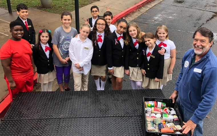 Oak Grove Elementary School Annual Food Drive