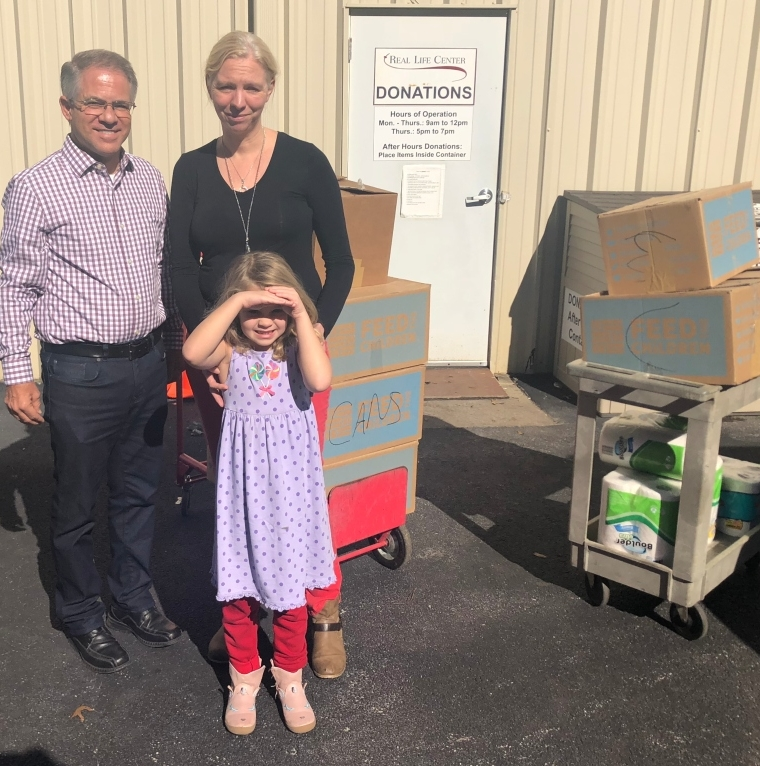 Peachtree City First Presbyterian Preschool and Kindergarten Food Drive