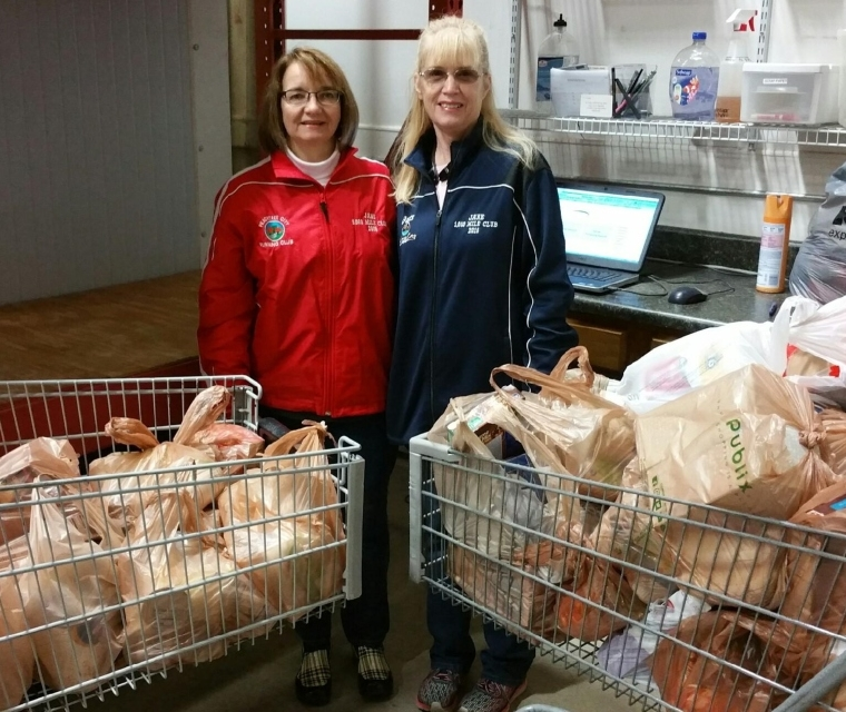 Peachtree City Running Club Annual Food Drive
