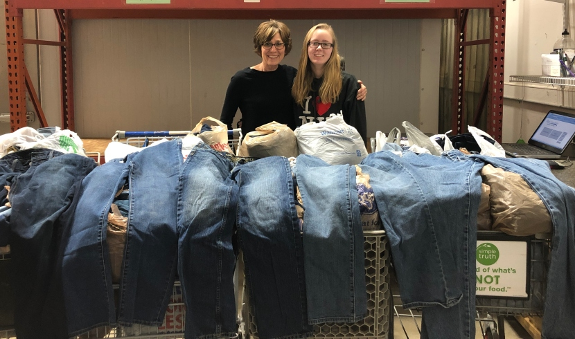 338 Pairs of Jeans Collected