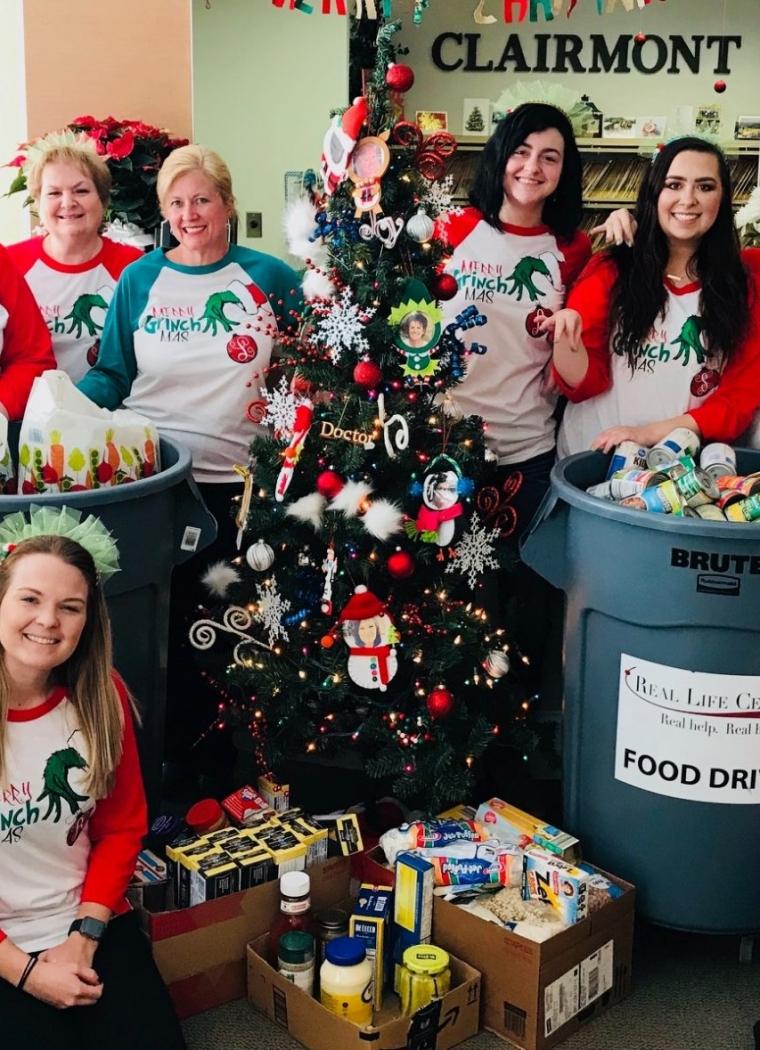 Clairmont Dental Associates Annual Food Drive