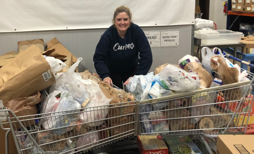 Curves Holiday Food Drive