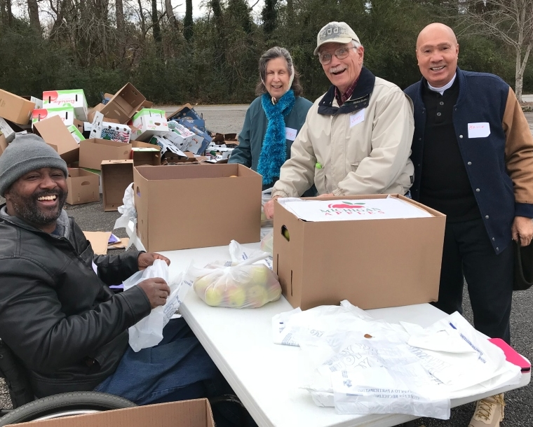 December Mobile Food Pantry
