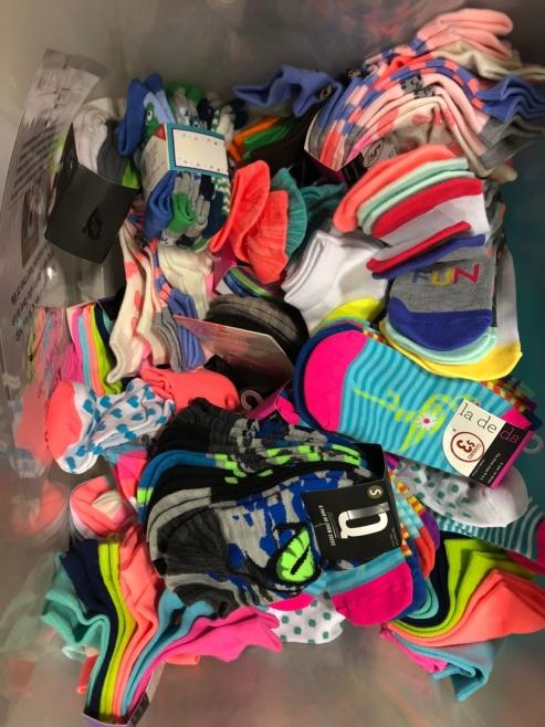 Dogwood Small Group Donates Socks