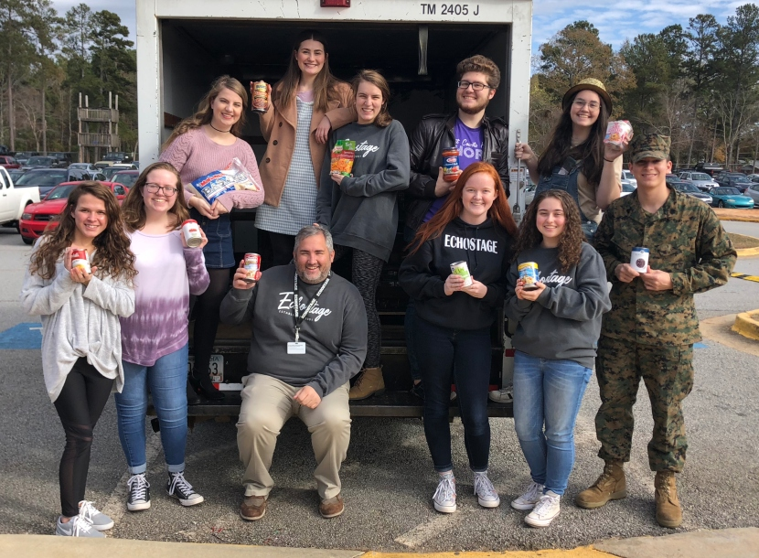 East Coweta Trick or Treat So Kids Can Eat Food Drive