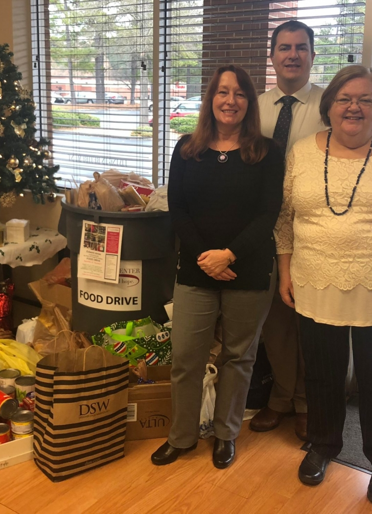 Edward Jones Annual Holiday Food Drive