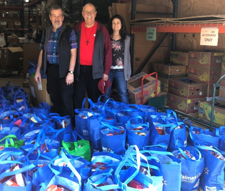 Word of God Lutheran Church Donates Dinners