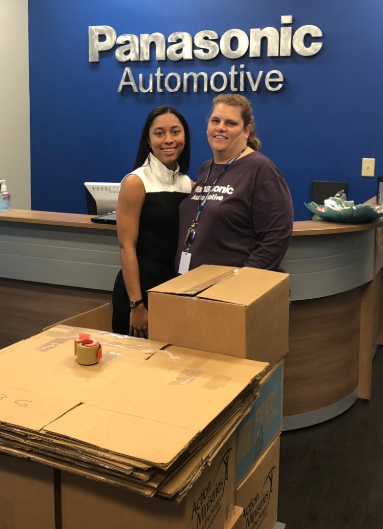 Panasonic Automotive Annual Holiday Food Drive