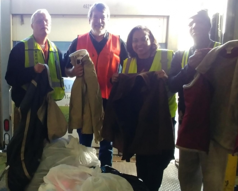 US Foods Donates Coats to Families in Need