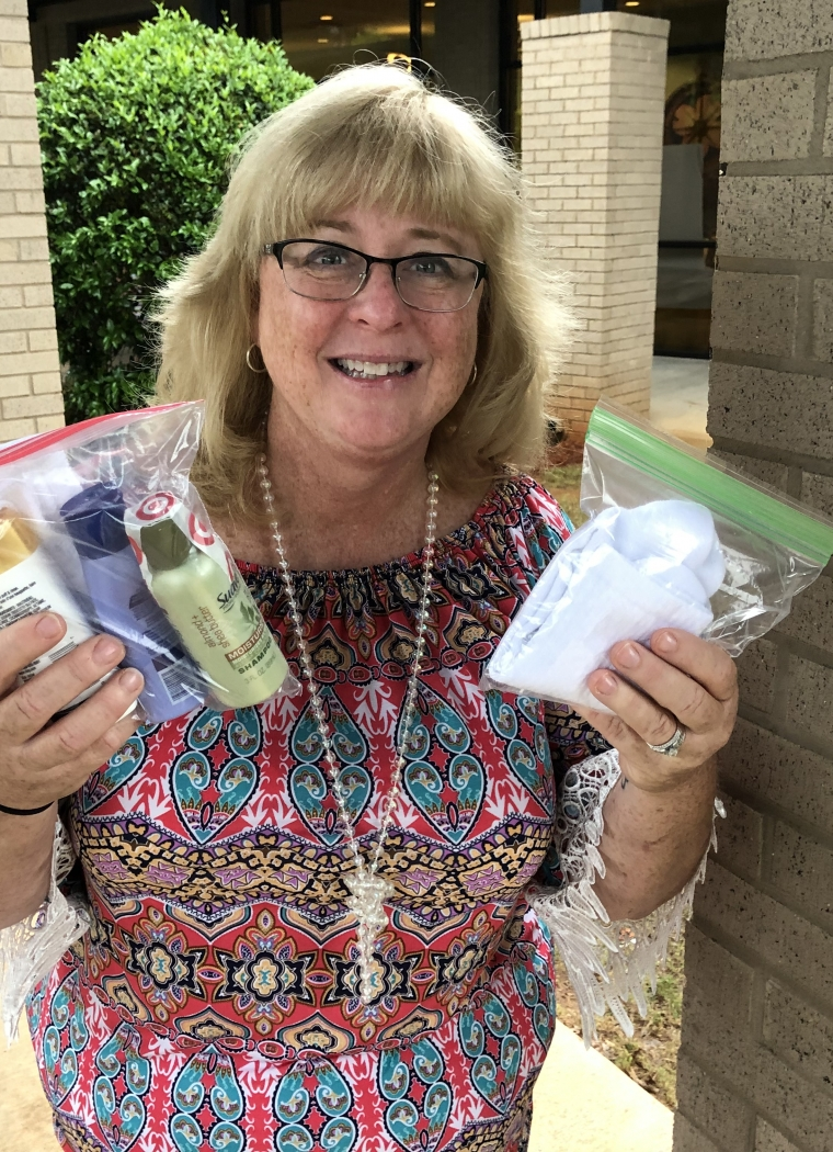 Middle School Special Education Program Shows Love through Care Packages
