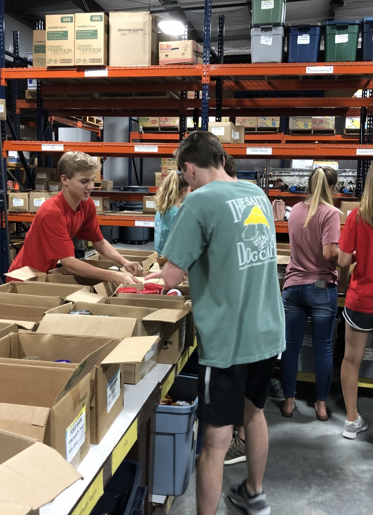 FBC PTC Students Give of their Time to Serve Others
