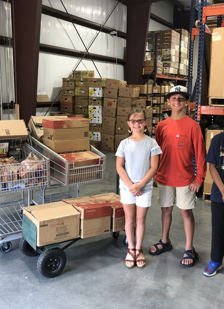 Landmark Christian School Reads to Feed Others!