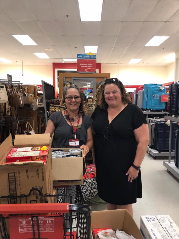 T.J. Maxx of Newnan Food Drive a Success