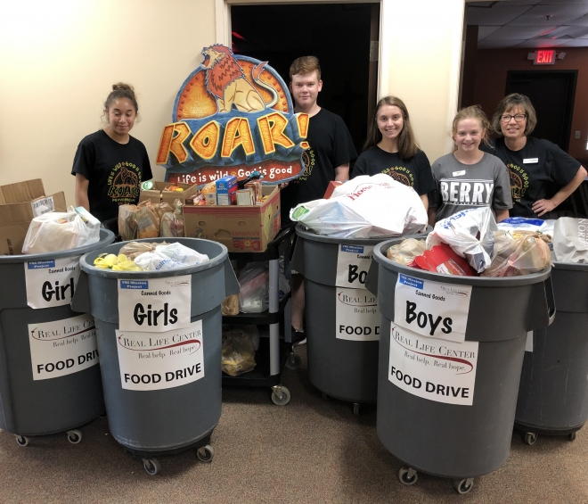 PUMC holds a successful VBS food drive