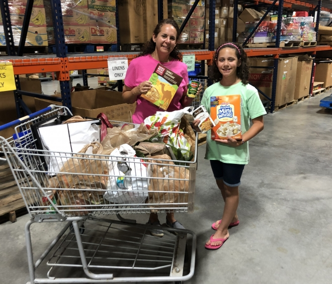 Organizing Food Drives, Even at a Young Age!