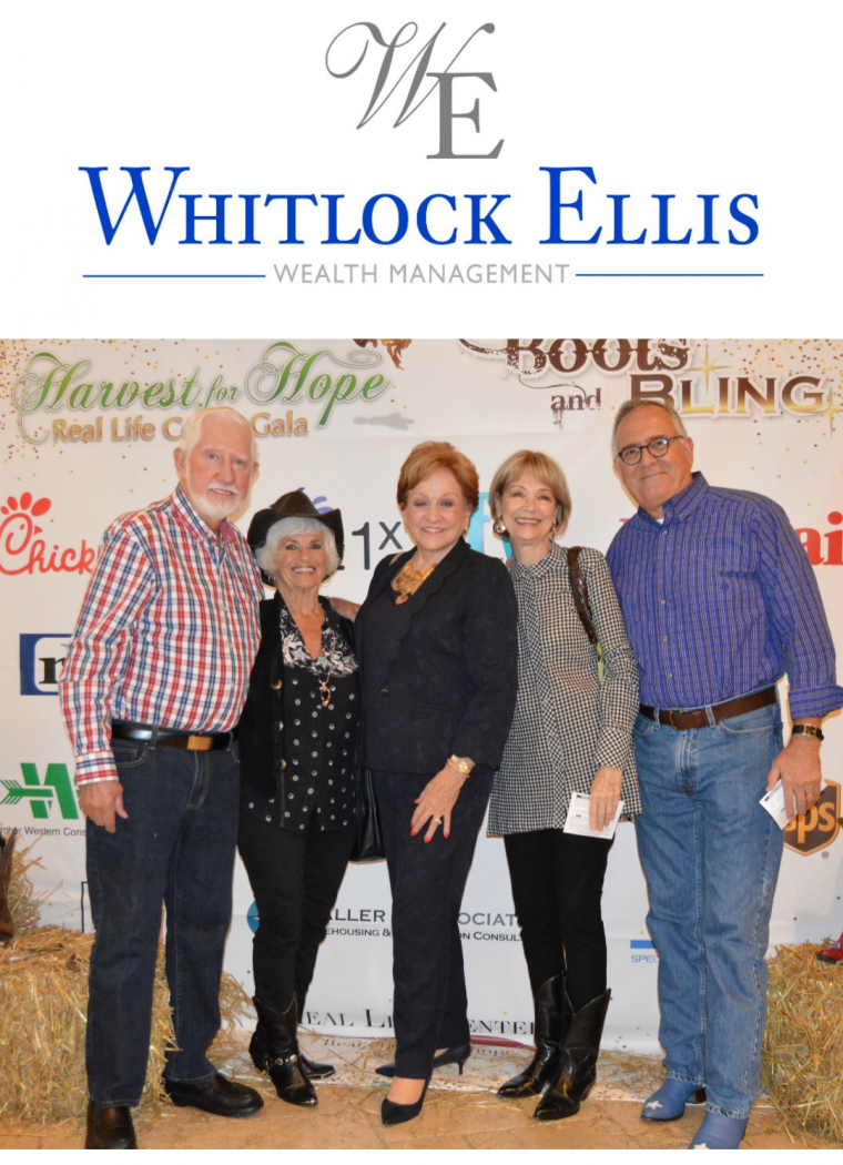 Whitlock Ellis Wealth Management is a Gold Sponsor!