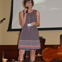 Executive Director Cathy Berggren welcomes guests