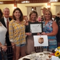 Martha Kerlin, Tim Fosnough, Dilek Kadirman, Robin Eskens, Rebecca Combs and Jill Fosnough of UPS - Platinum Sponsor
