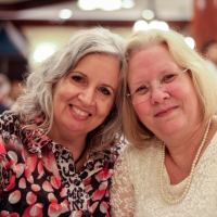 Real Life Center volunteers, Donna Whitewood and Debbie Hembree