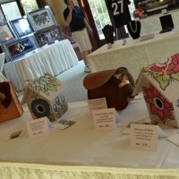 silent auction donations from local artists