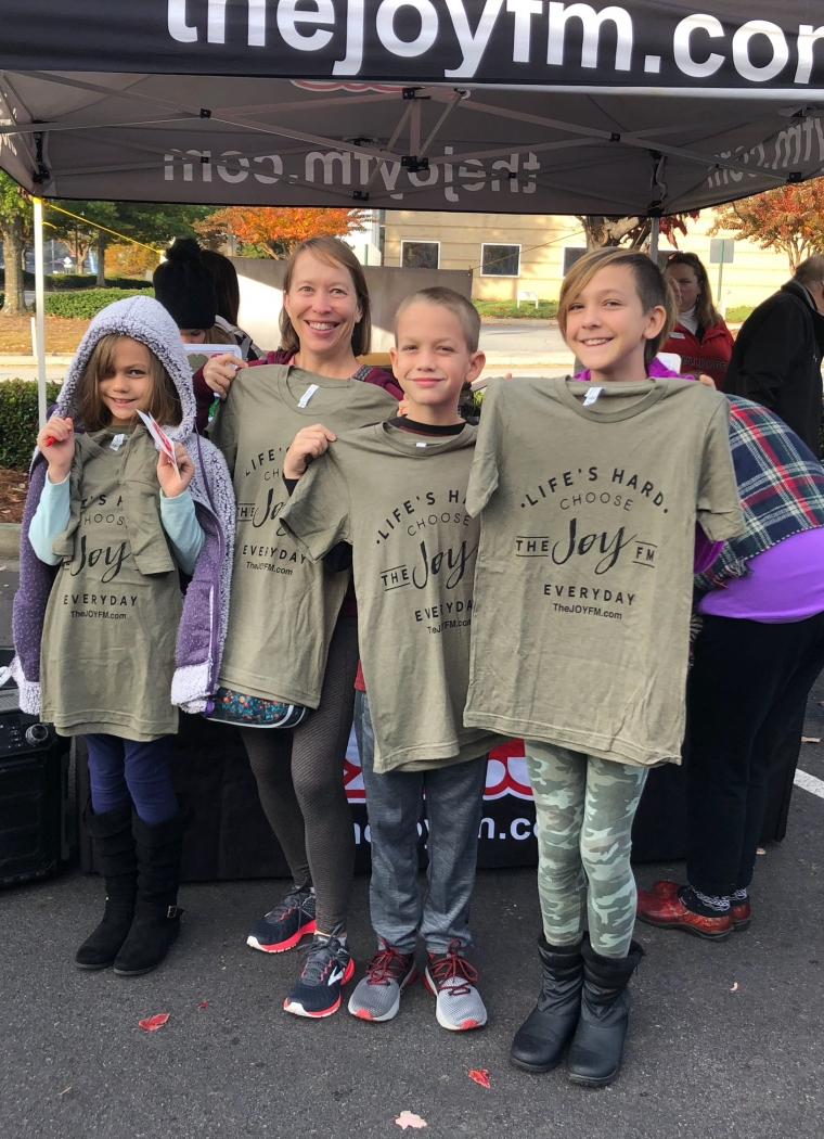 1,139 Turkeys donated through Very Successful T-Shirts for Turkeys!
