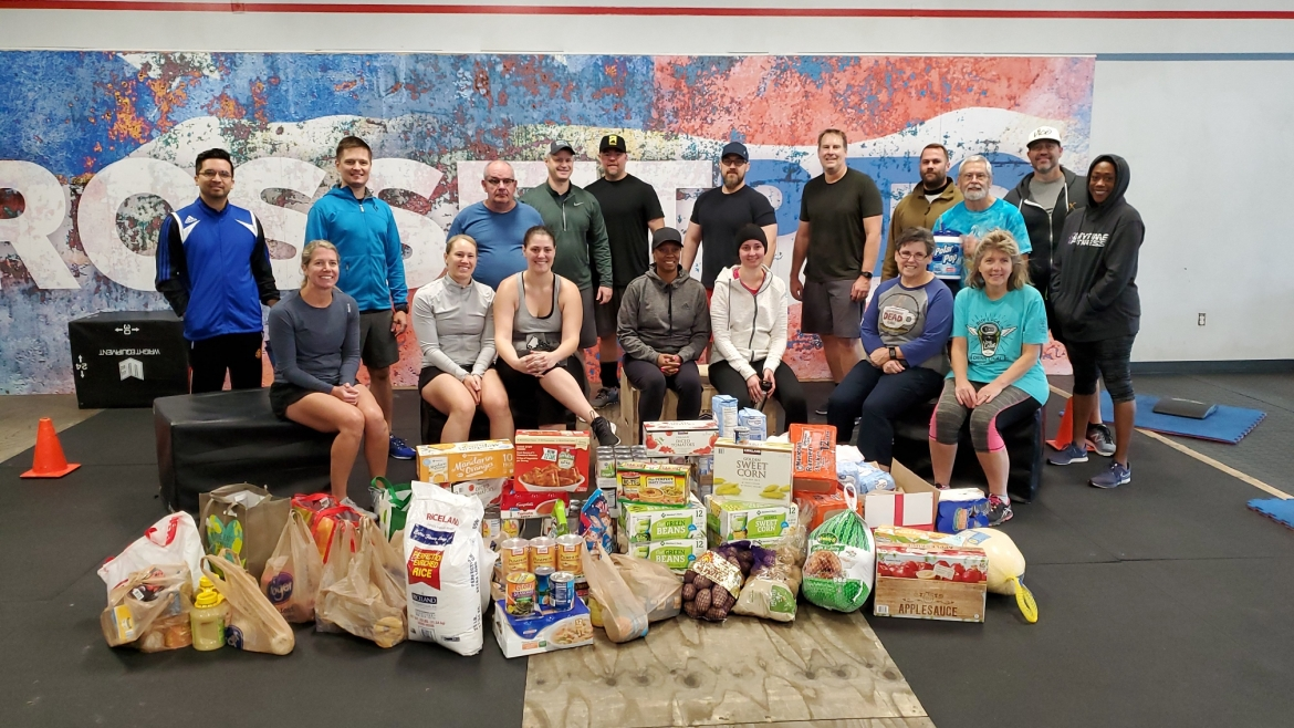 Crossfit PTC Ties together Giving and Good Health