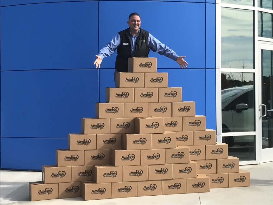 Honda of Newnan Collects a Pyramid of Blessings!