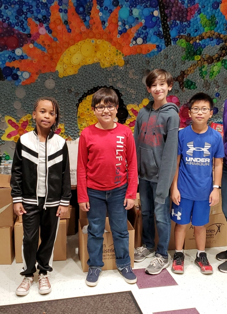 Kedron Elementary School Helps our Neighbors in Need