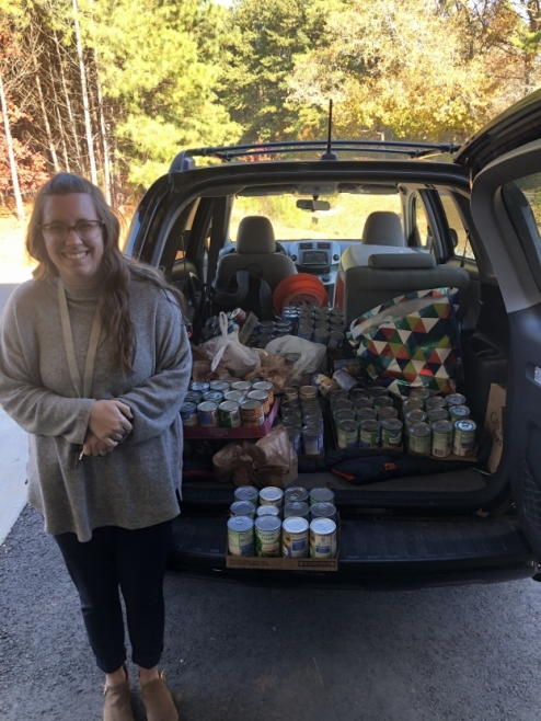 LaGrange College RA Leads a Successful Collection Effort