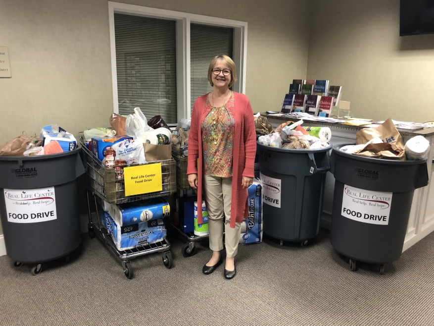 Carriage Lane Presbyterian Church Donates Close to 600 Pounds of Food