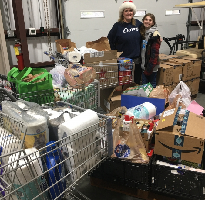 Curves Clients and Staff are Incredibly Generous