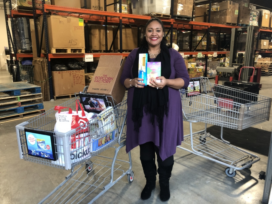Greater Pineview PHC Demonstrates Care through Food Drive
