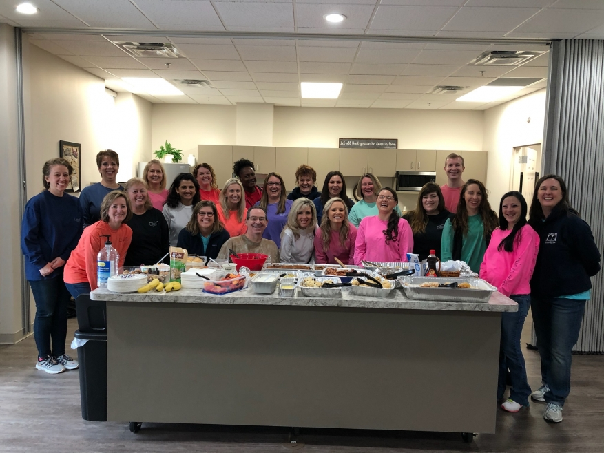 Dr. Mahaffey and His Staff Show Random Acts of Kindness at the RLC!