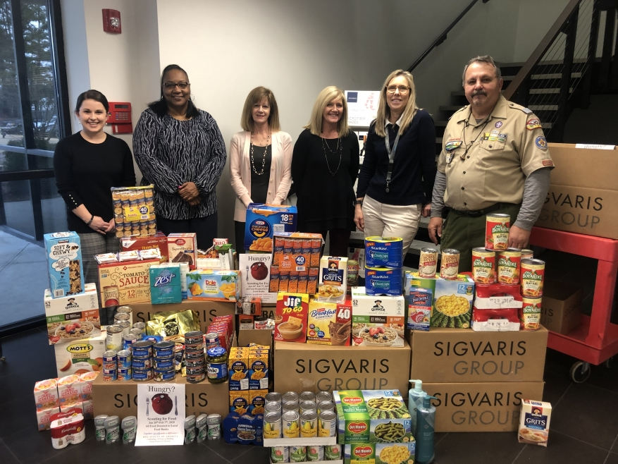 Sigvaris Group Participates in Corporate Food Drive