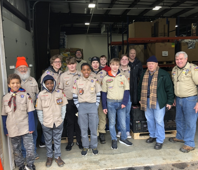 Boy Scouts of America Get Community Involved