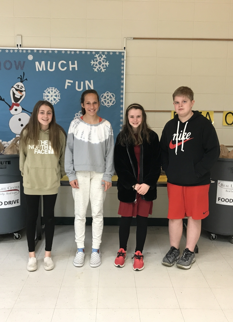 JC Booth Middle School Beta Club Annual Food Drive Supports the RLC