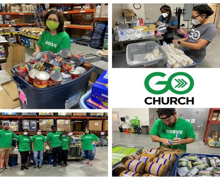 GO Church Serves at the RLC