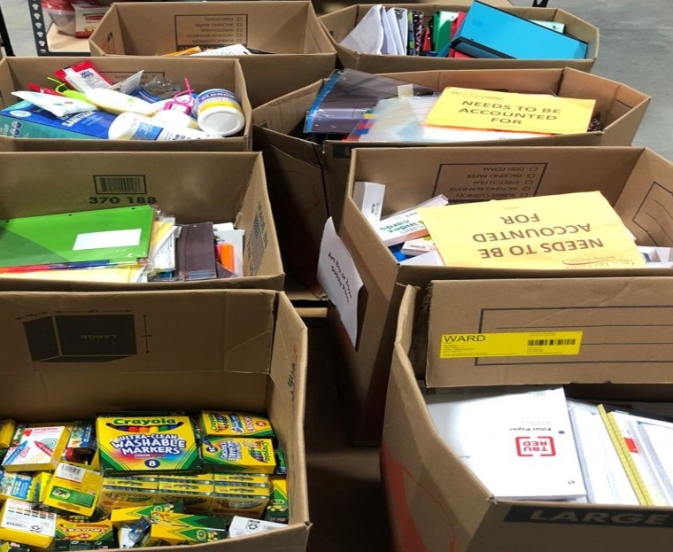 Southside Church Responds with School Supplies